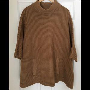 Sweaters - Oversized rib sweater